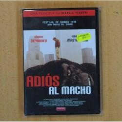 MARCO FERRERI - ADIOS AL MACHO - DVD