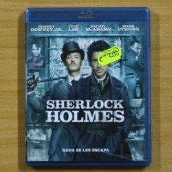 SHERLOCK HOLMES - BLU RAY