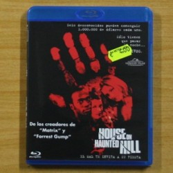 HOUSE ON HAUNTED HILL - BLU RAY