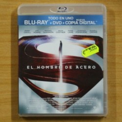 EL HOMBRE DE ACERO - BLU RAY