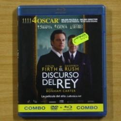 EL DISCURSO DEL REY - BLU RAY