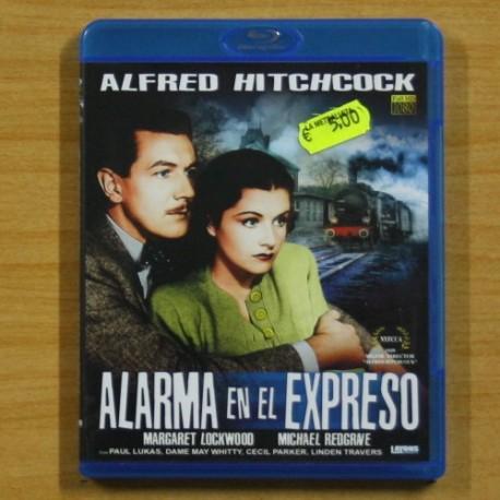 ALFRED HITCHCOCK - ALARMA EN EL EXPRESO - BLU RAY
