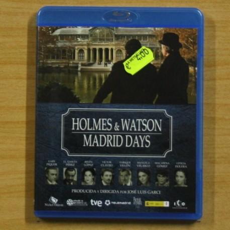 HOLMES & WATSON MADRID DAYS - BLU RAY