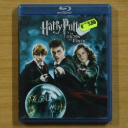 HARRY POTTER Y LA ORDEN DEL FENIX - BLU RAY