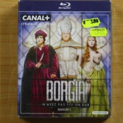 BORGIA SAISON 1 - VERSION ORIGINAL - BLU RAY