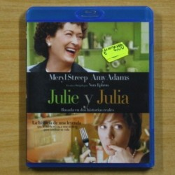 MERYL STREEP - JULIE Y JULIA - BLU RAY