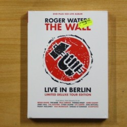 ROGER WATERS THE WALL LIVE IN BERLIN - DVD + 2 CD