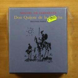MIGUEL DE CERVANTES - DON QUIJOTE DE LA MANCHA SEGUNDA PARTE - 19 CD