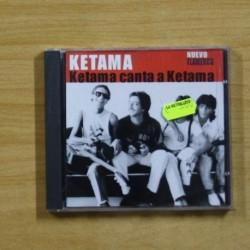 KETAMA - KETAMA CANTA A KETAMA - CD