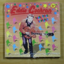 EDDIE COCHRAN - THREE STEPS TO HEAVEN - BOX 3 LP