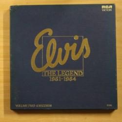 ELVIS PRESLEY - THE LEGEND 1961 1964 - BOX 6 LP