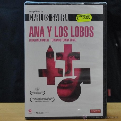 CARLOS SAURA - ANA Y LOS LOBOS - DVD