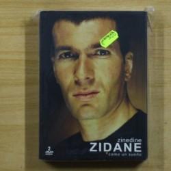 ZINEDINE ZIDANE COMO UN SUEÑO - 2 DVD