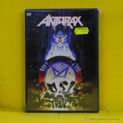 ANTHRAX - DESTRUCTION - DVD