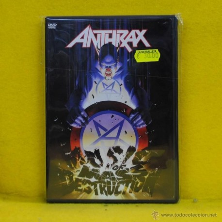 ANTHRAX - DESTRUCTION - DVD