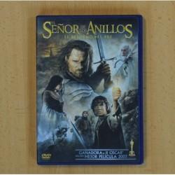 EL SEÑOR DE LOS ANILLOS EL RETORNO DEL REY - DVD