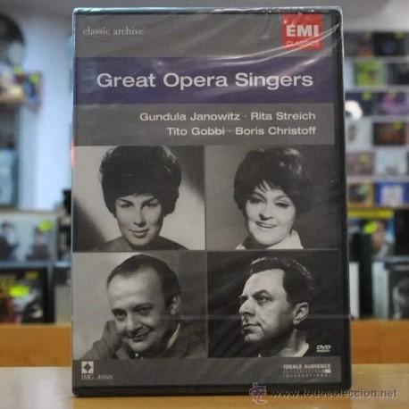 VARIOS - GREAT OPERA SINGERS - DVD