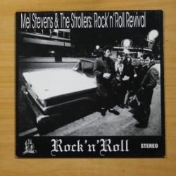 MEL STEVENS & THE STROLLERS - ROCK N ROLL REVIVAL - LP