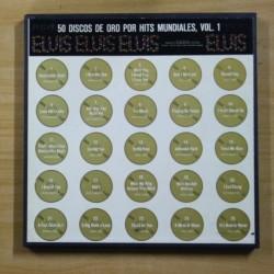 ELVIS PRESLEY - 50 DISCOS DE ORO POR HITS MUNDIALES VOL 1 - CON ALBUM DE FOTOS RCA - BOX LP