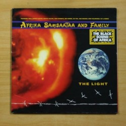 AFRIKA BAMBAATAA AND FAMILY - THE LIGHT - GATEFOLD - LP