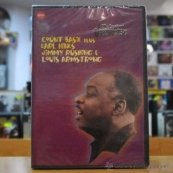 VARIOS - COUNT BASIE / JIMMY RUSHING - JAZZ MASTER - DVD