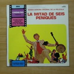 VARIOS - LA MITAD DE SEIS PENIQUES - LP