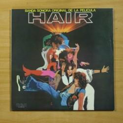VARIOS - HAIR - GATEFOLD - 2 LP