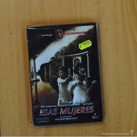 INGMAR BERGMAN - ESAS MUJERES - DVD