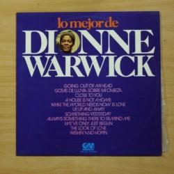 DIONNE WARWICK - LO MEJOR DE - LP
