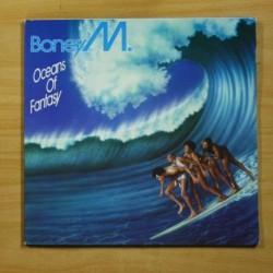 BONEY M - OCEANS OF FANTASY - GATEFOLD - LP