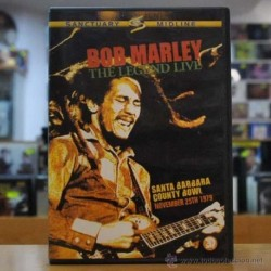 DON GAZZANAGA - BOB MARLEY THE LEGEND LIVE - 2 DVD