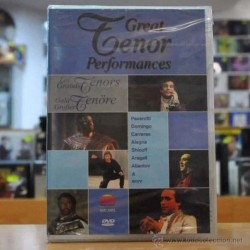 VARIOS - GREAT TENOR PERFORMANCES - DVD