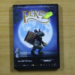 PEREZ EL RATONCITO DE TUS SUEÑOS - DVD
