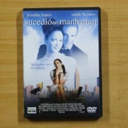 SUCEDIO EN MANHATTAN - DVD