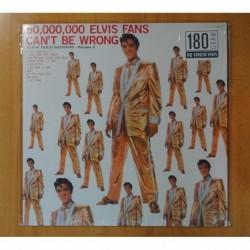 ELVIS PRESLEY - 50.000.000 ELVIS FANS CAN´T BE WRONG - LP