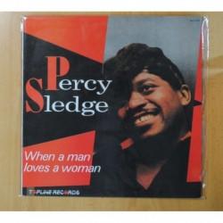 PERCY SLEDGE - WHEN A MAN LOVES A WOMAN - LP