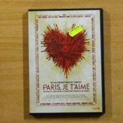 PARIS JE T´AIME - DVD
