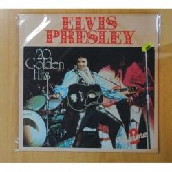 ELVIS PRESLEY - 20 GOLDEN HITS - LP