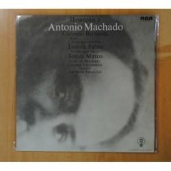 CARMELO BERNAOLA - HOMENAJE A ANTONIO MACHADO - LP