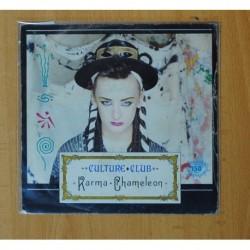 CULTURE CLUB - KARMA CHAMELEON - SINGLE
