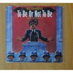 MEL BROOKS - TO BE OR NOT TO BE - SINGLE