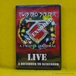 TWISTED SISTER - UNCENSORED A TWISTED CHRISTMAS - DVD