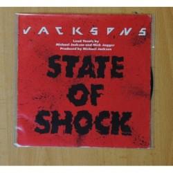JACKSONS - STATE OF SHOCK - SINGLE