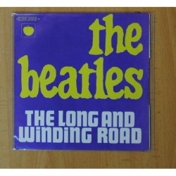 THE BEATLES - THE LONG AND WINDING ROAD - SINGLE