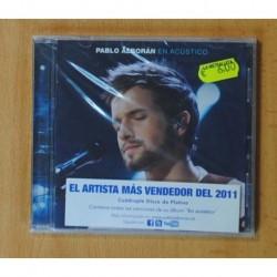 PABLO ALBORAN - EN ACUSTICO - CD