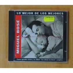 MIGUEL BOSE - LOS CHICOS NO LLORAN / LO MEJOR DE LOS MEJORES - CD