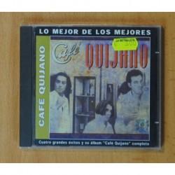 CAFE QUIJANO - CAFE QUIJANO / LO MEJOR DE LOS MEJORES - CD