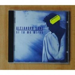 ALEJANDRO SANZ - SI TU ME MIRAS - CD