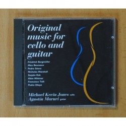 MICHAEL KEVIN JONES / AGUSTIN MARURI - ORIGINAL MUSIC FOR CELLO AND GUITAR - CD