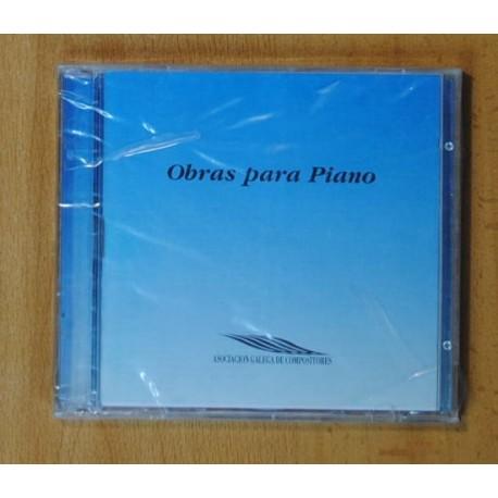 VARIOS - OBRAS PARA PIANO - CD